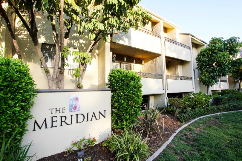 The view of The Meridian property in Pasadena, California