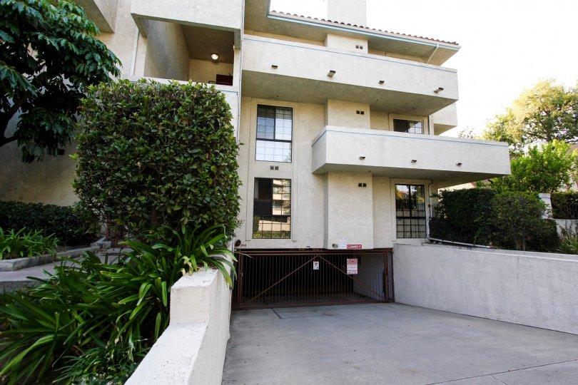 The balconies seen at Villa Corona
