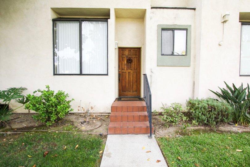 The door into Villa Marengo