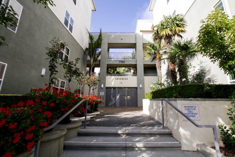 The entrance into Coronado Playa Vista