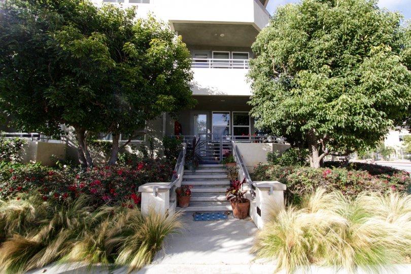 The entryway into Coronado Playa Vista