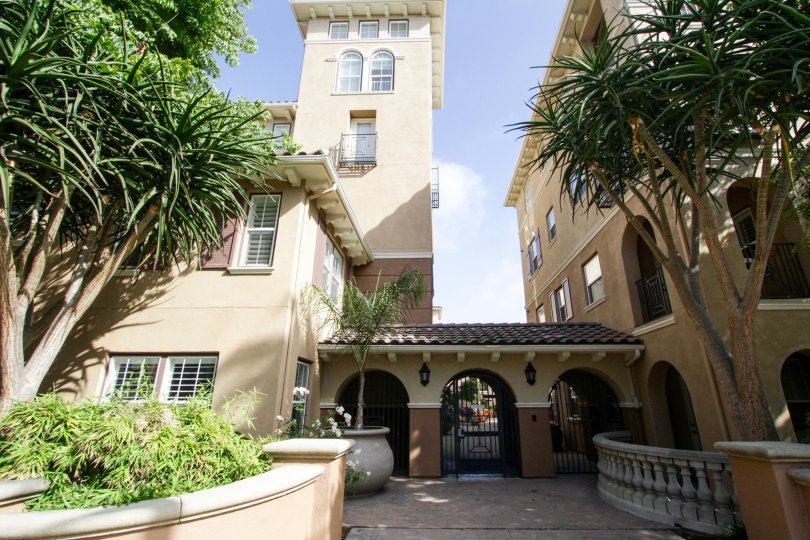 The entryway at the Esplanade