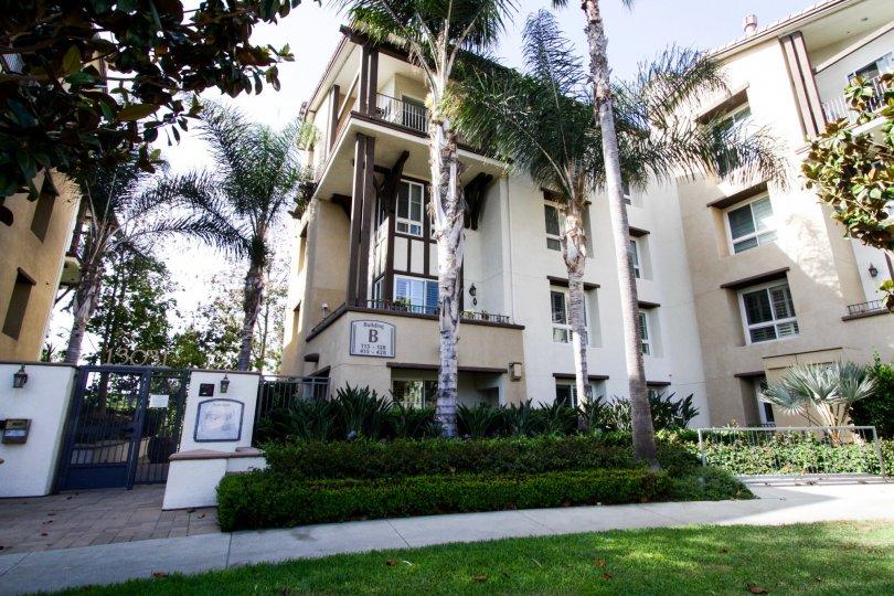 The Serenade building in Playa Vista