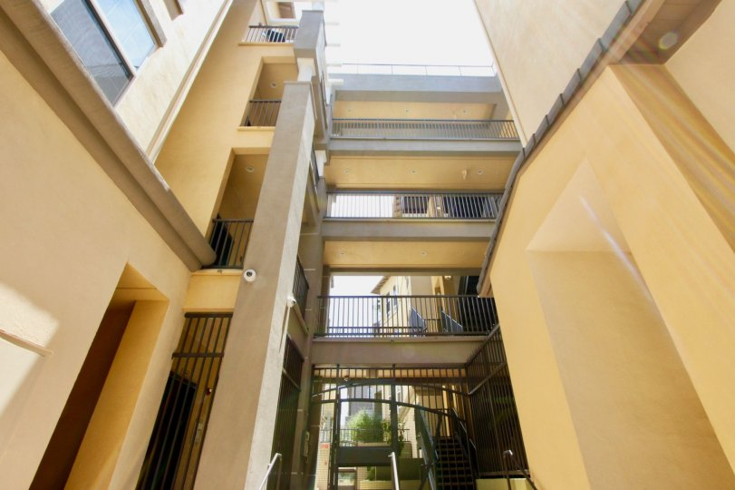 An Inside View of the architecture of the Lofts in Playa Vista