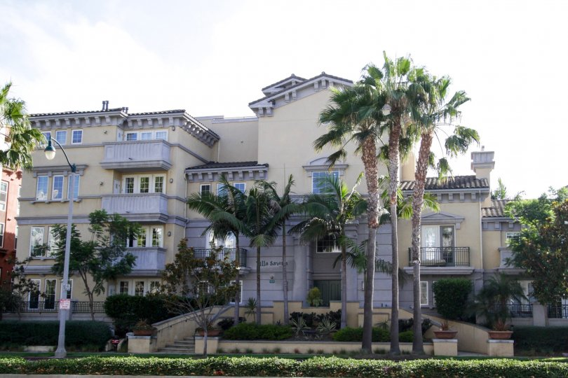 The Villa Savona building in Playa Vista
