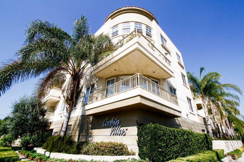 The balconies at Corbin Villas