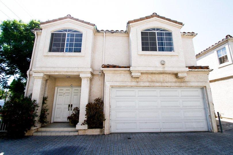 The garage at Flamingo Estates in Reseda California