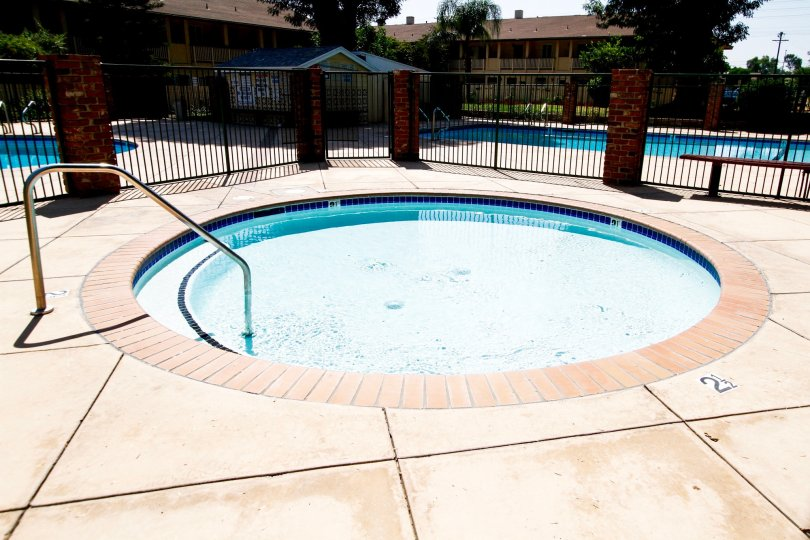 The small pool at Northridge Village