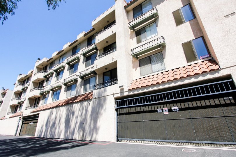 The parking at Casa Verde Estates