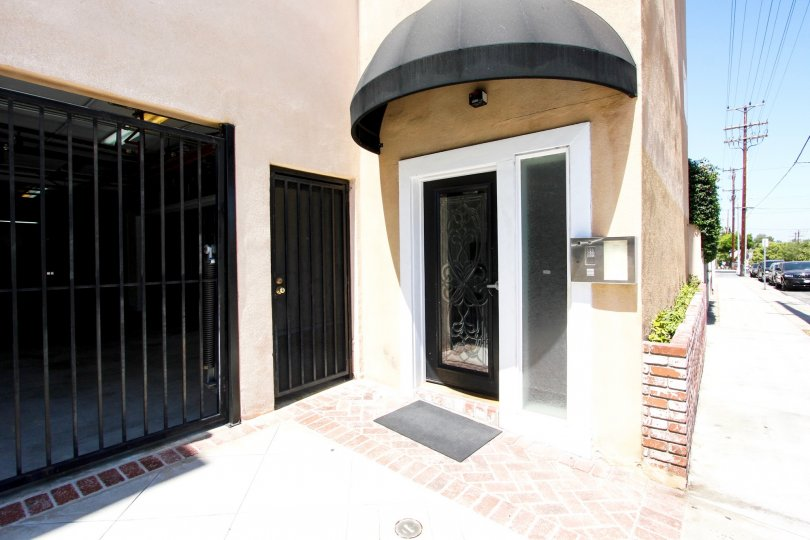 The entrance into Grand Avenue Townhomes in San Pedro California