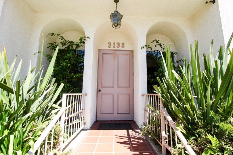 The entrance into Harbor Vista in San Pedro California