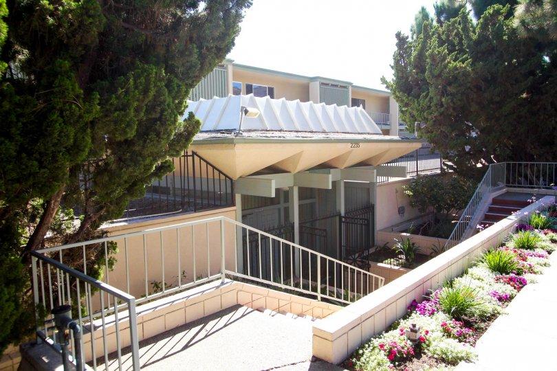 The entrance into Southpointe in San Pedro California