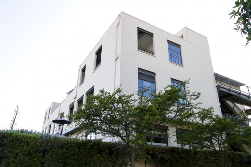 The building at 12st Street Lofts in Santa Monica