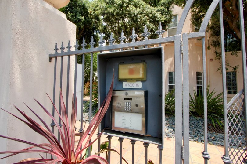 A look behind the gated community of 1531 12th St.