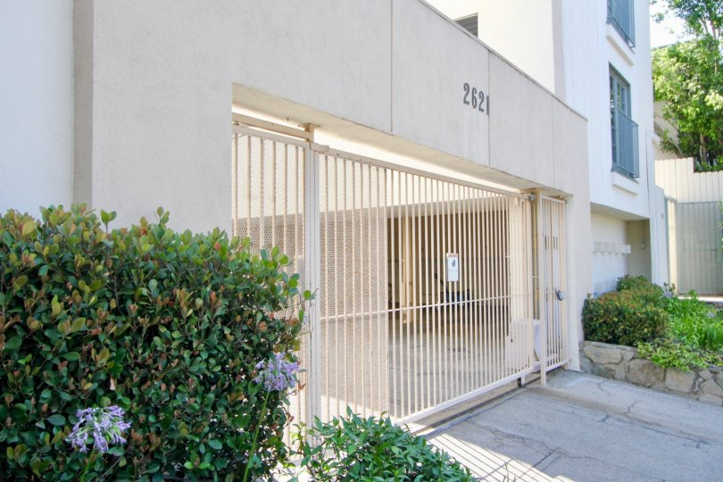 Easy street access to this gated parking area at this Centinela community