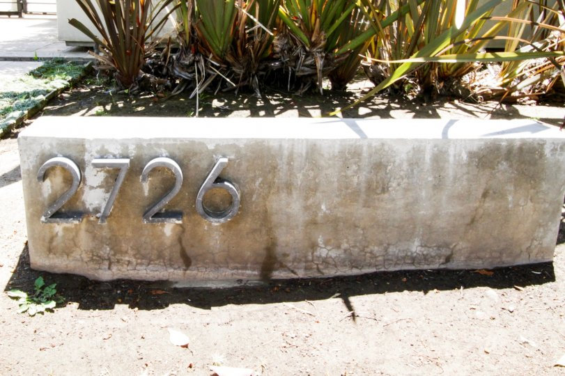 The numbers seen at 2726 Montana in Santa Monica