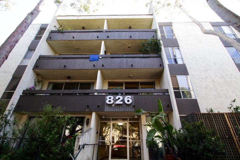 The balconies seen at 826 2nd Street