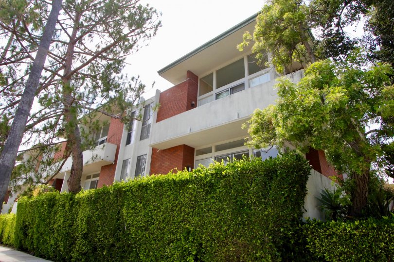 Multi-level condos with balcony, picture windows in Santa Monica