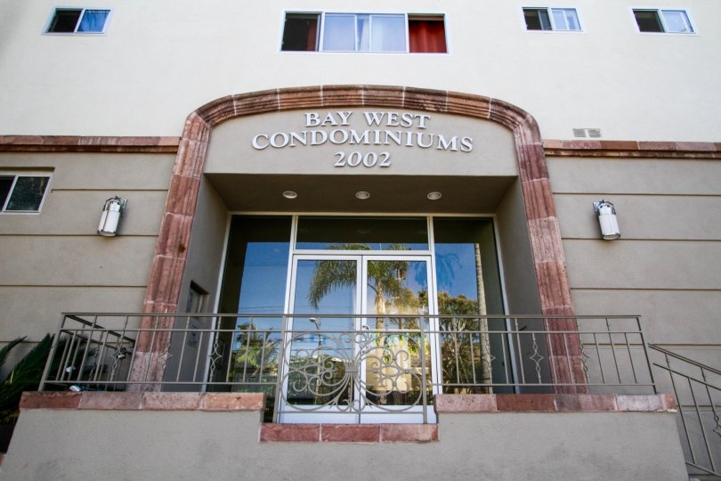 The entrance into Bay West in Santa Monica
