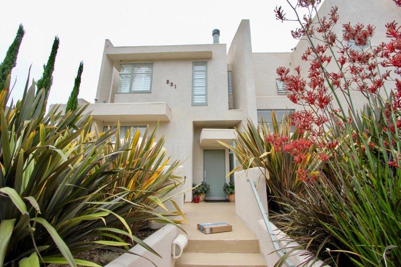 Casa Bay Beautifully adorned entrance, Santa Monica, California