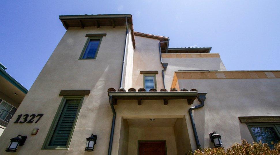 The architecture of Ecuclid Luxury Condominiums