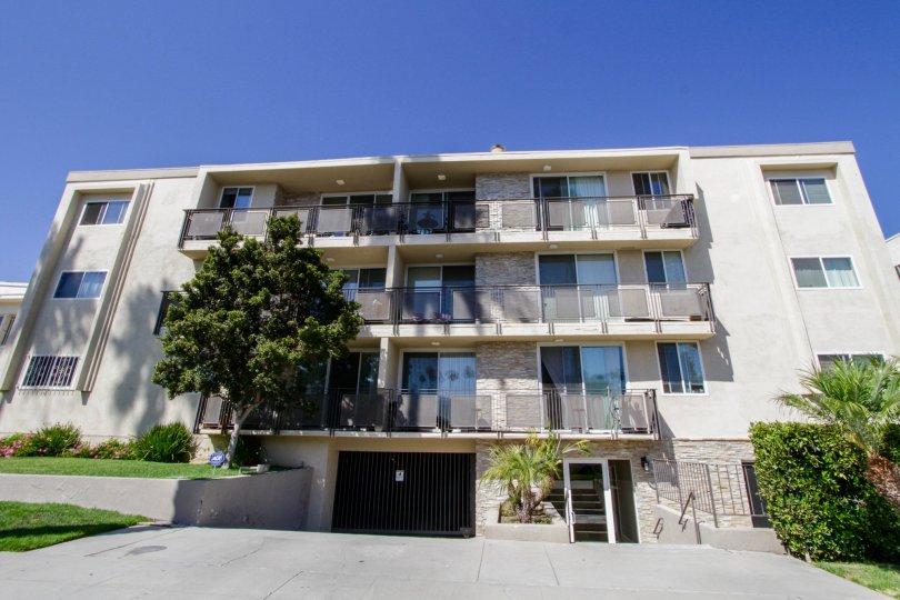 The Lark Villas building in Santa Monica
