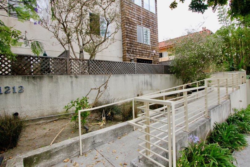 A beautiful way in Ocean Park Terrace, it is the way to the beautiful house which is inside