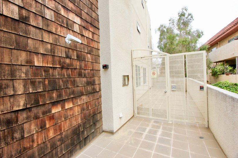 open area, Side outdoor gate entrance of Ocean Park Terrace