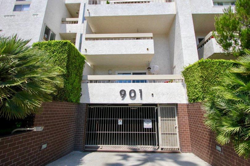 Apartments named Ocean Plaza of Santa Monica California