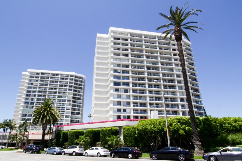 The Ocean Towers building in Santa Monica