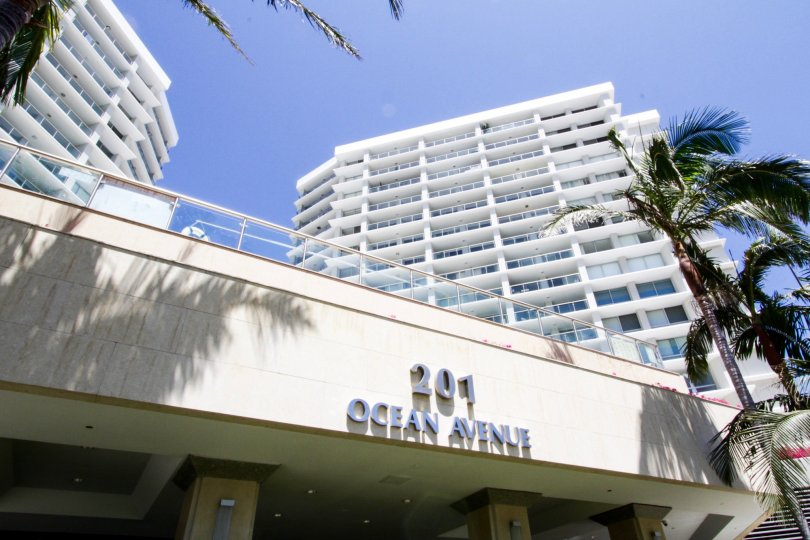 The address for Ocean Towers in Santa Monica