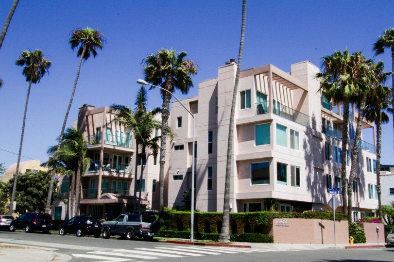 The Pacific Ocean building in Santa Monica