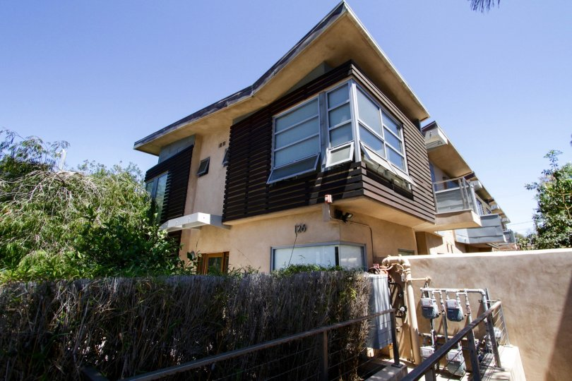 The building at Pacific Street Townhomes in Santa Monica