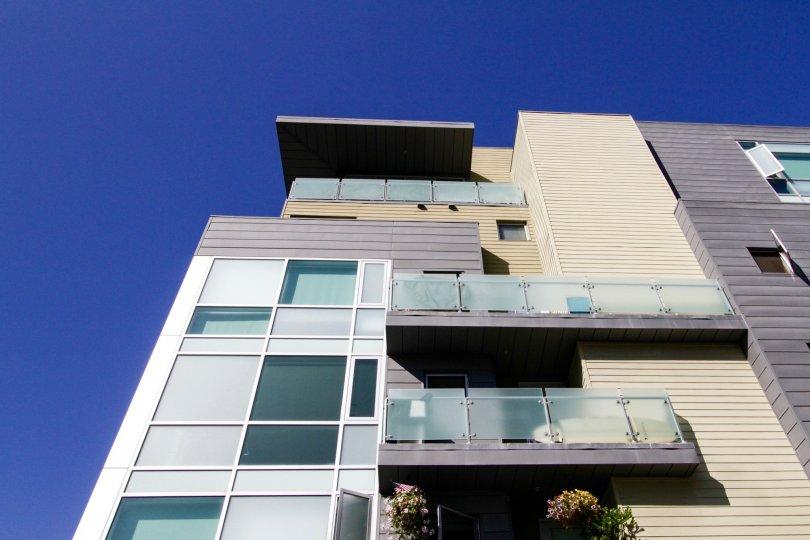 The balcony seen at Positano in Santa Monica