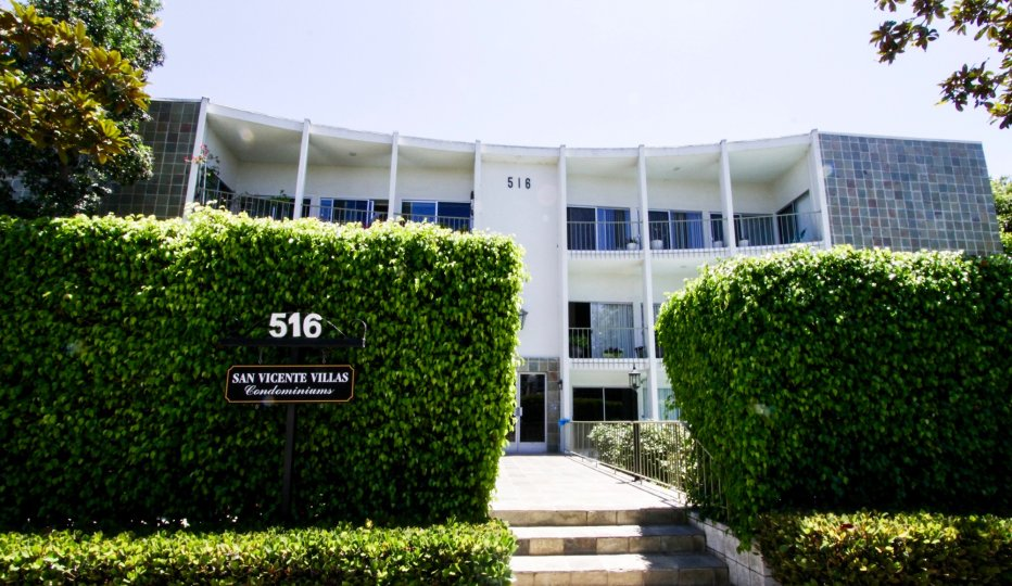 The address at San Vicente Villas in Santa Monica