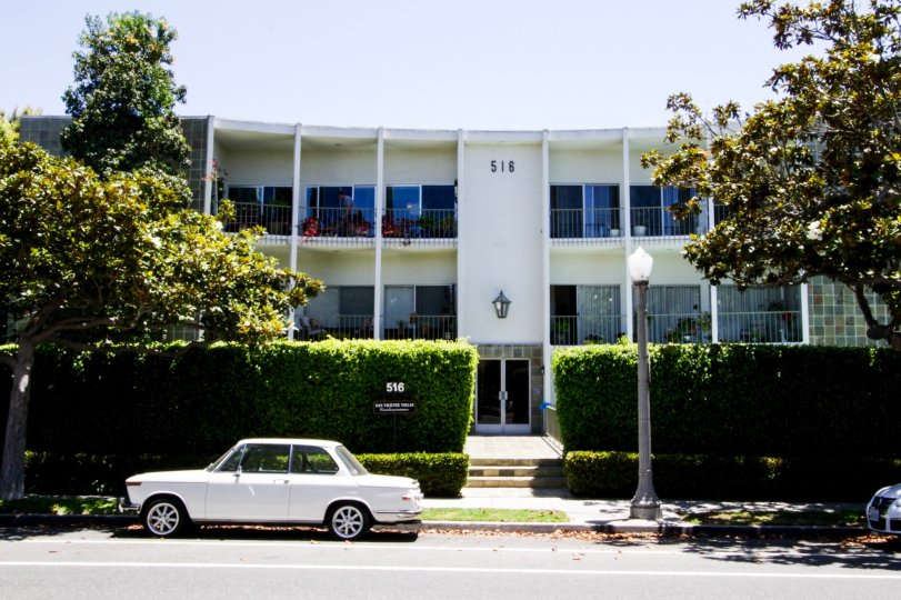 The building at San Vicente Villas in Santa Monica