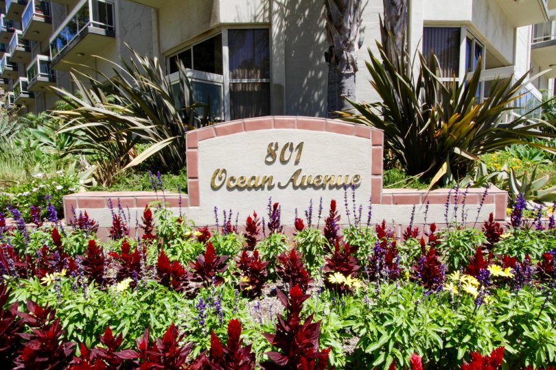 The welcoming sign of The Pacifican in Santa Monica