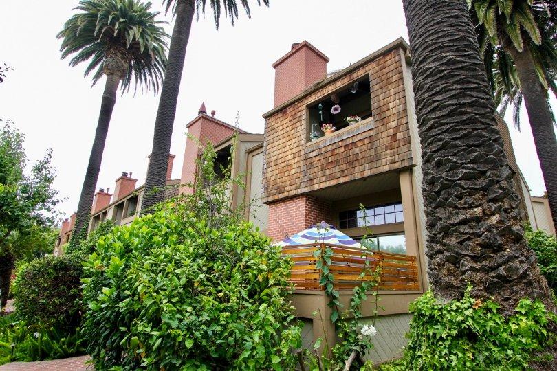 Home with Cedar Shake Shingles in Villas Vicente Santa Monica, CA