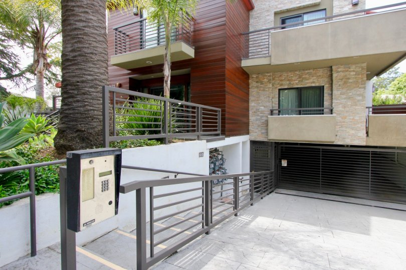 Parking Garage keypad and gate for Virgina Court Townhouses