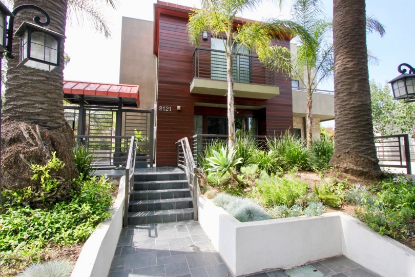 2121 Virgina Court Townhouse in Santa Monica California