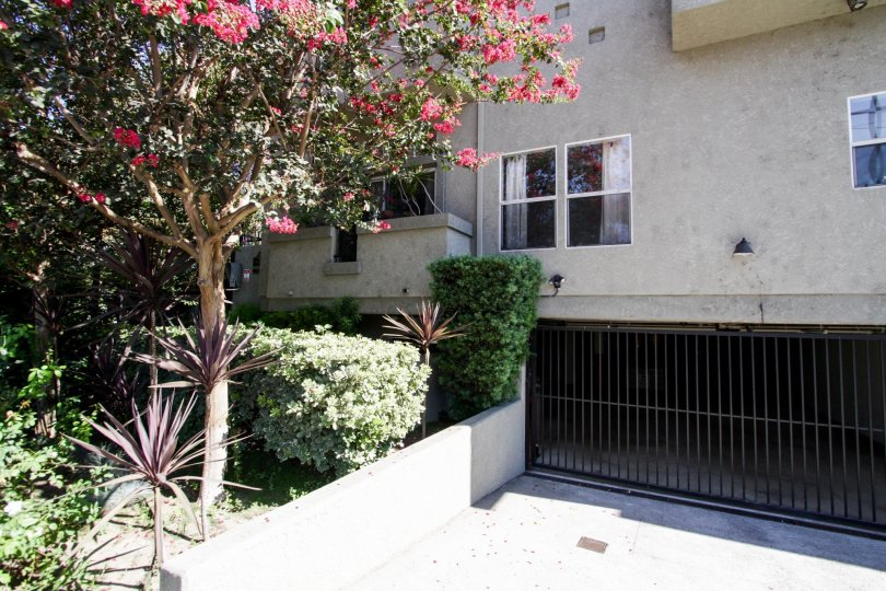 The parking for 13250 Moorpark St