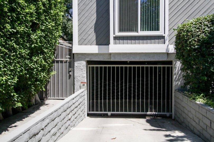 The parking for 5020 Tilden Ave in Sherman Oaks