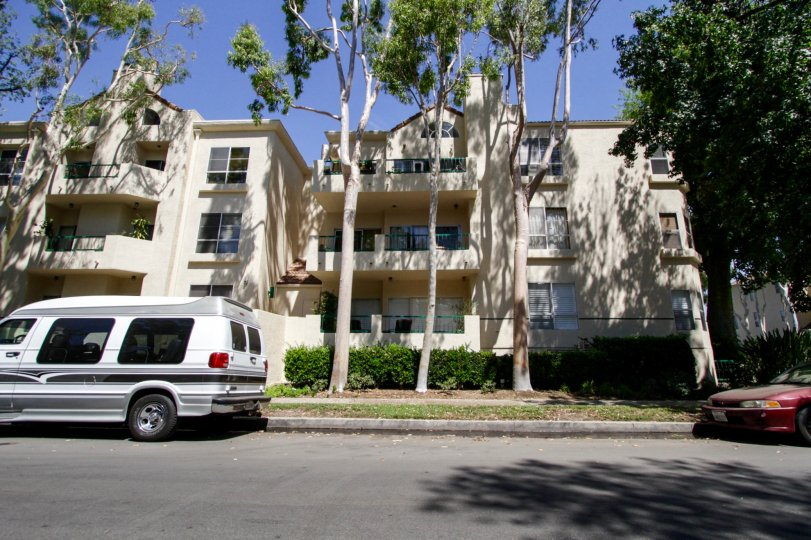 The Chandler Park Village building in Sherman Oaks