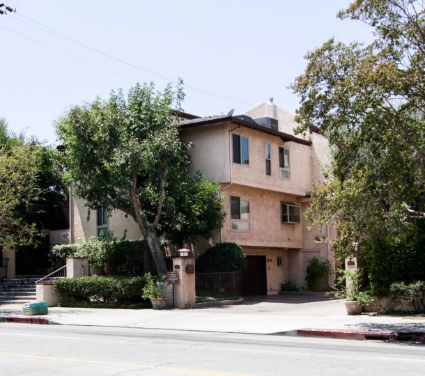 The Coldwater Garden Terrace building in Sherman Oaks