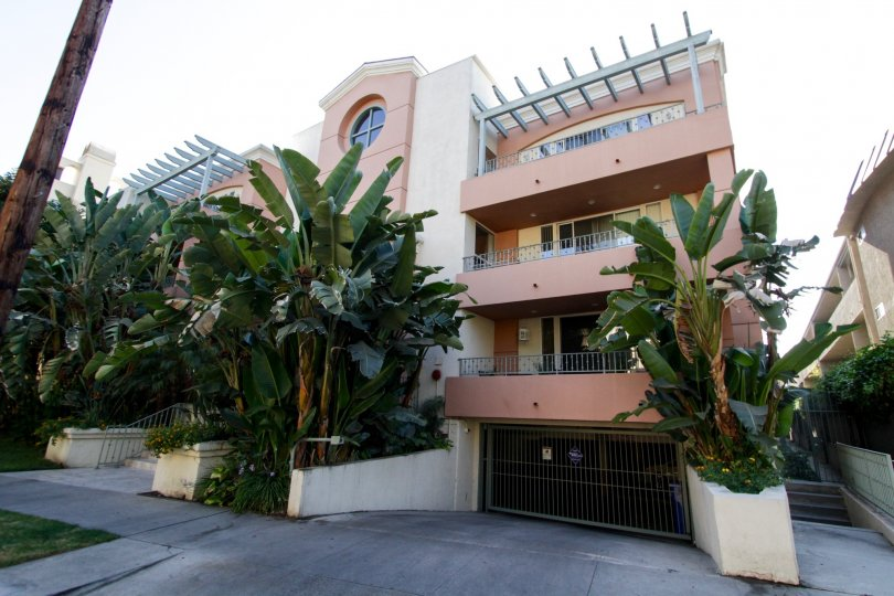 The balconies at Continental at Sherman Oaks located in Sherman Oaks