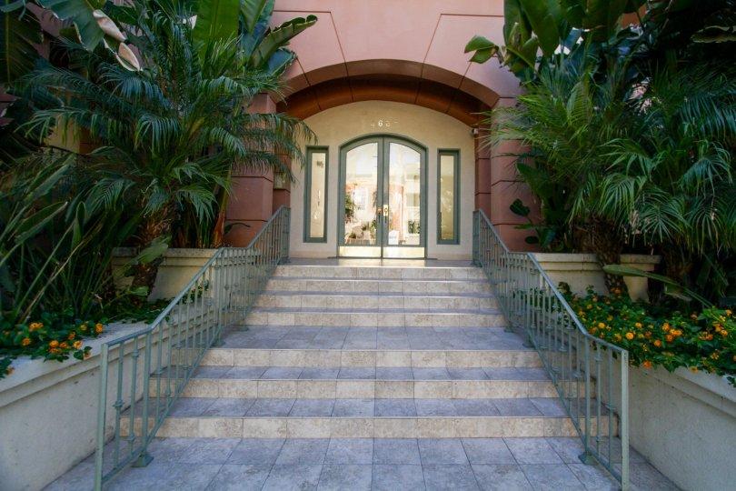 The entrance at Continental at Sherman Oaks