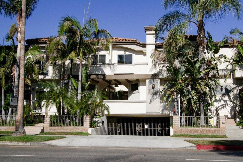 The Costa Azure building in Sherman Oaks