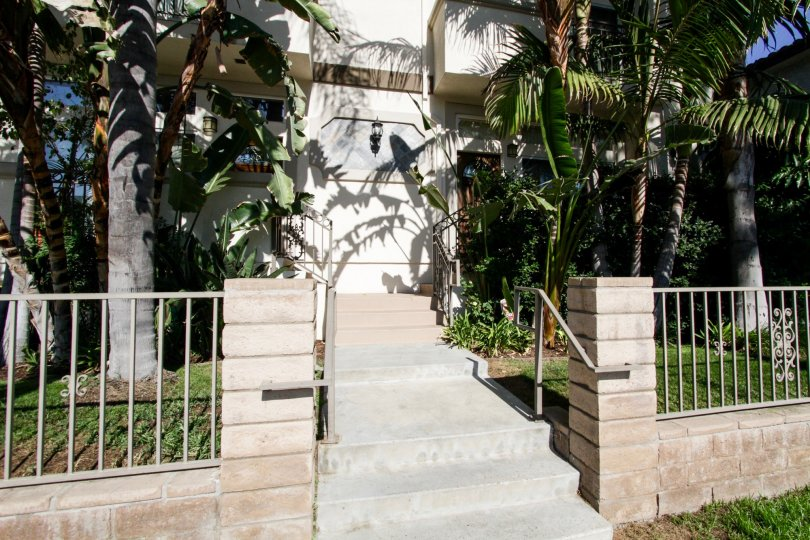 The stairs up to Costa Azure