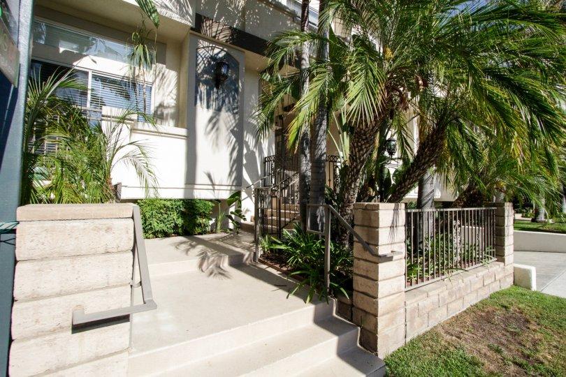 The entryway into Costa Azure in Sherman Oaks