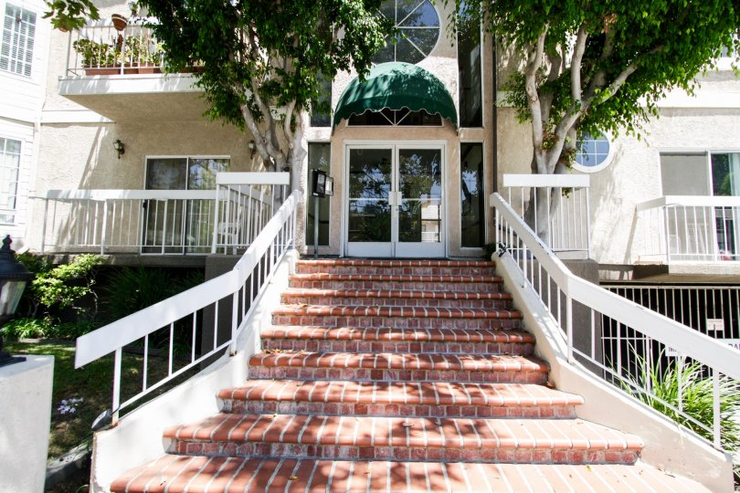 The stairs up to the Dickens Crest in Sherman Oaks